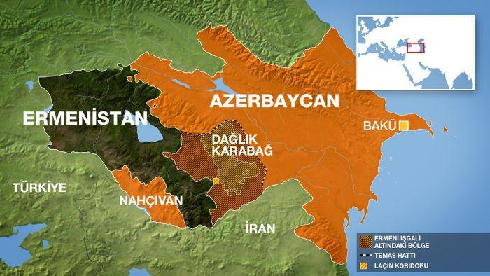 AGİT heyeti Ermeni-Azeri sınırında