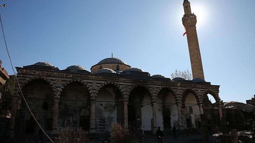 Kurşunlu Camii'nin son hali görüntülendi