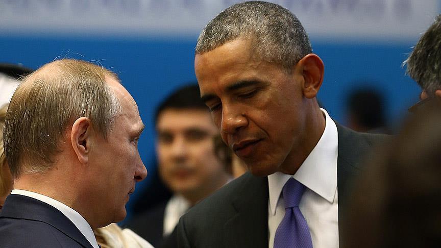 Obama ile Putin telefonda Suriye'yi görüştü