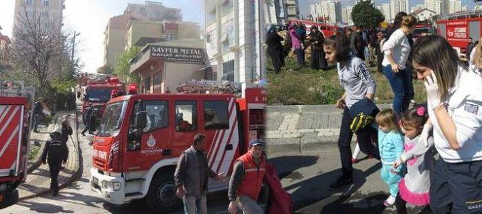İstanbul Ümraniye'de anaokulu yangını: Can kaybı yok
