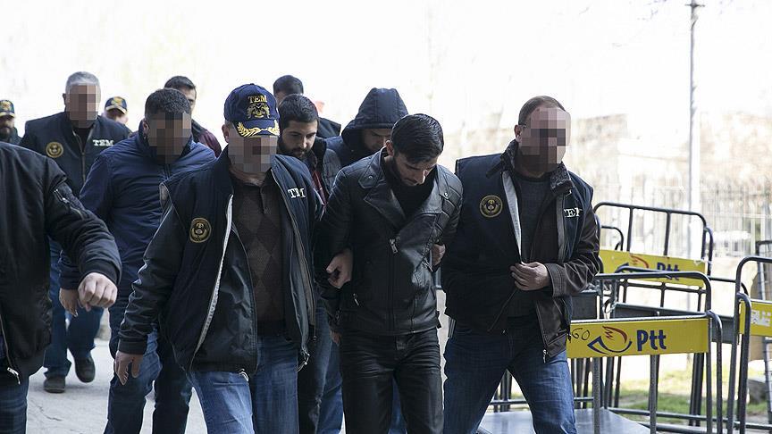 Ankara şüphelileri adliyeye sevk edildi