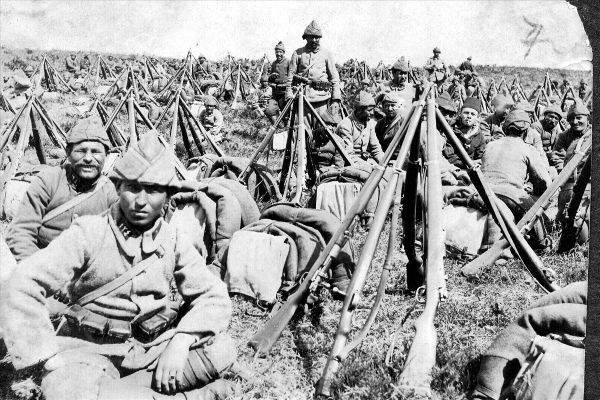 Çanakkale'de savaş günleri   FOTO