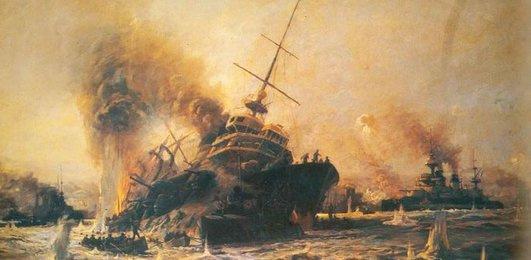 Bugün Çanakkale Deniz Zaferi'nin 101. yılı