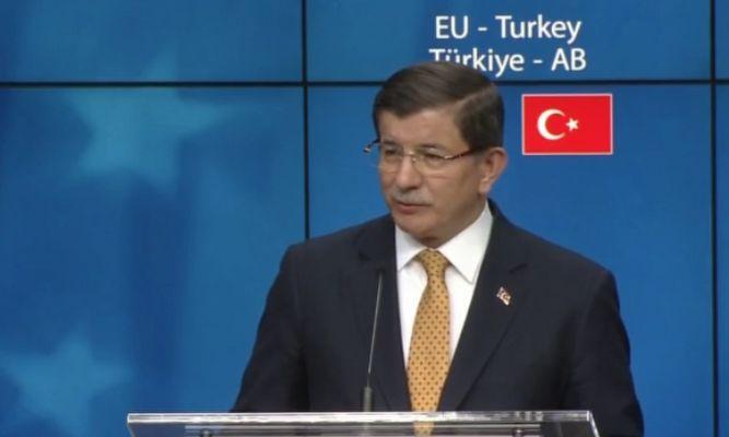 Türkiye-AB anlaşması sonrası açıklama