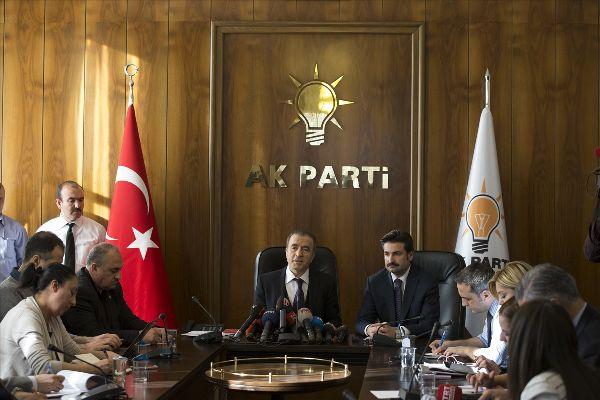 AK Parti'den CHP, MHP ve HDP'ye dokunulmazlık ziyareti