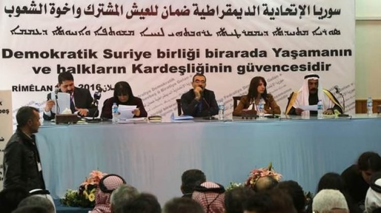 PYD federasyon ilan etti, destekleyen yok