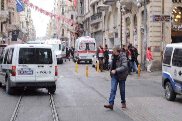 Taksim patlamayla ilgili ilk resmi açıklama