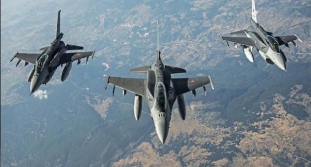 PKK kampları 20 savaş jetiyle bombalandı