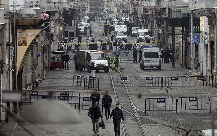 Taksim'deki saldırıya dünyadan tepkiler