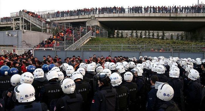 Derbi maçı öncesi İstanbul polisi alarma geçti