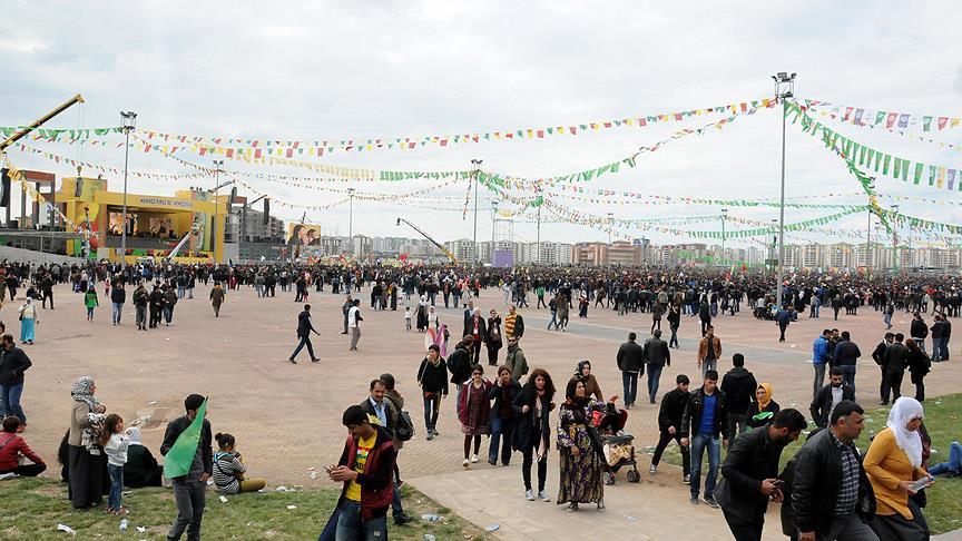 Diyarbakır'da en düşük katılımlı Nevruz