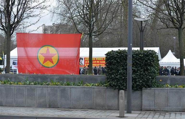 PKK'nın Belçika çadırı kaldığı yerden devam