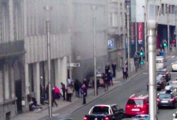 Brüksel'de bu kez metroda patlama