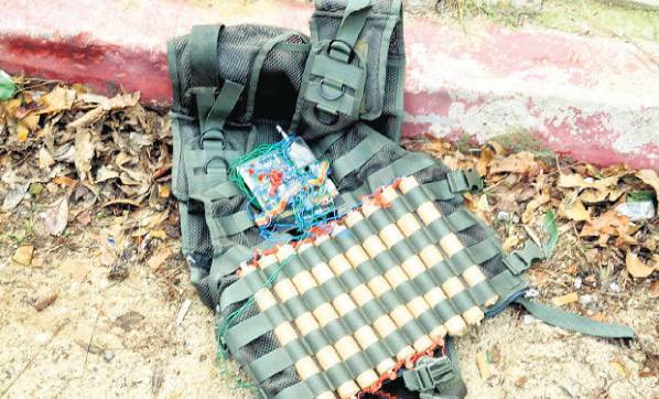 Sınırda canlı bomba yakalandı