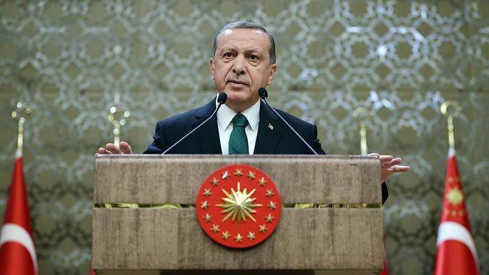 Erdoğan'dan Belçika'ya taziye mesajı