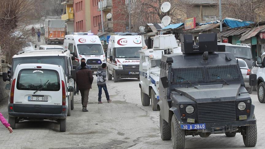 Yüksekova'da saldırı: 3 şehit, 9 yaralı