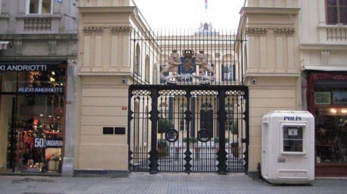 Hollanda'nın İstanbul konsolosluğu boşaltıldı