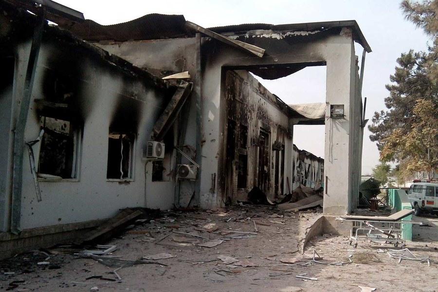 Hastane vuran NATO özür diledi
