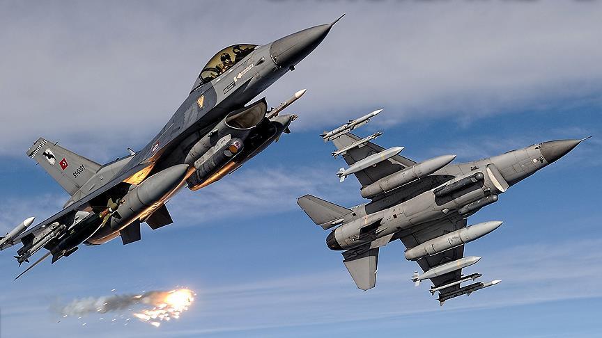 PKK kampları 13 uçakla vuruldu