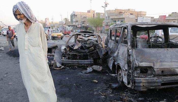 Bağdat'ta stadyumda intihar saldırısı
