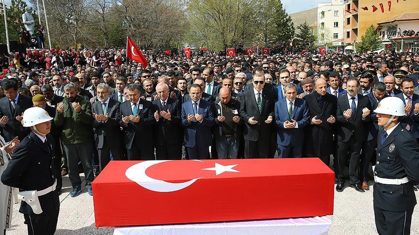 Şırnak şehidini Cumhurbaşkanı uğurladı
