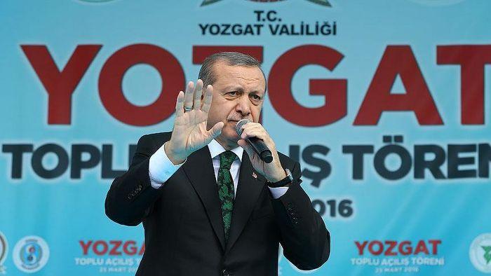 Erdoğan'dan Yozgat'a müjde üstüne müjde