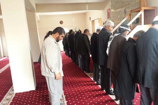 Şırnak'ta sadece bir camide Cuma kılındı