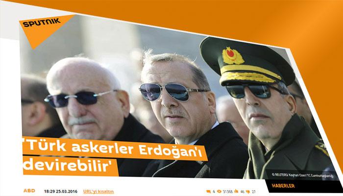 Türk askerler Erdoğan'ı devirebilirmiş