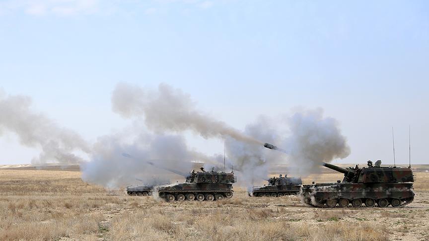 TSK, IŞİD mevzilerini vurdu