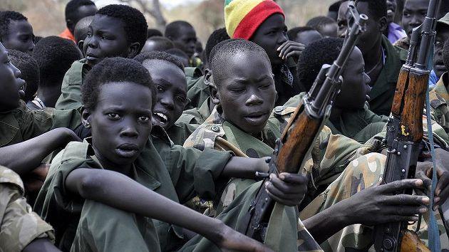 Sudan-BM arasında 'çocuk asker' anlaşması