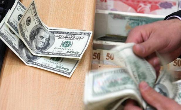 Dolar/TL 2,84'ün altına geriledi
