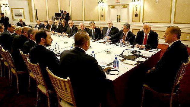 Erdoğan Yahudi temsilcileriyle görüştü