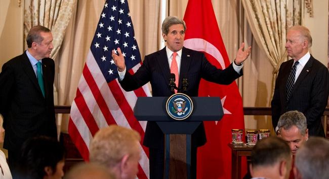 Erdoğan akşam Kerry ile görüşecek