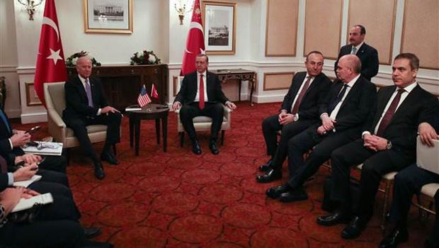 Erdoğan-Biden görüşmesiyle ilgili açıklama