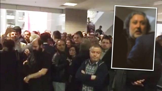Cumhuriyet yazarından muhabire saldırı