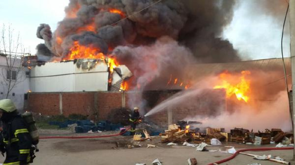 Bursa Osmangazi'de yangın