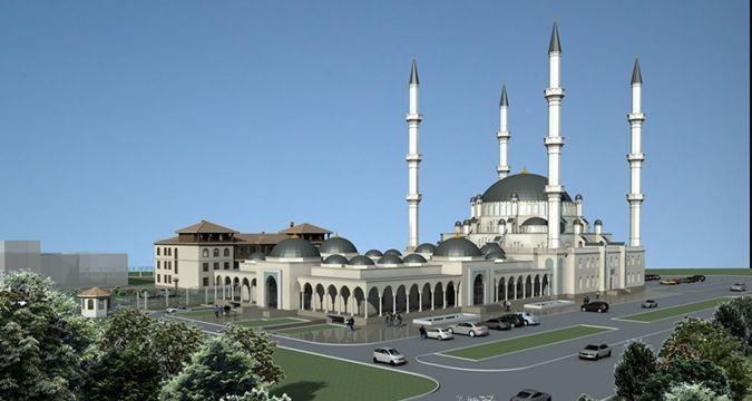 Kırım Cuma Camii'nin inşaatı başlıyor