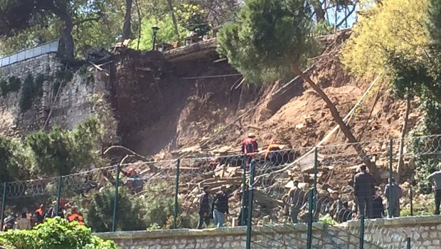 Gülhane'deki göçükte iki kişi öldü