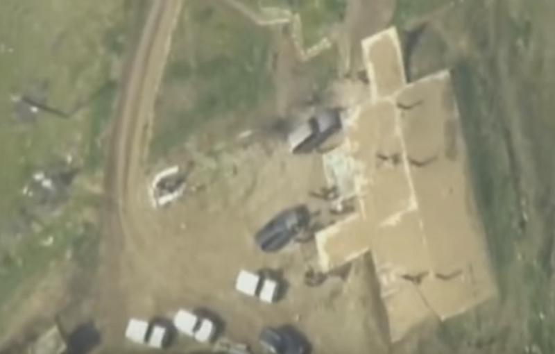 Ermeni komuta merkezi böyle vuruldu | VIDEO