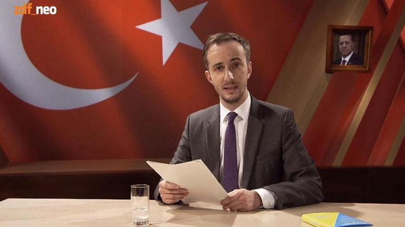 Erdoğan'a hakaret eden Alman mizahçıya soruşturma