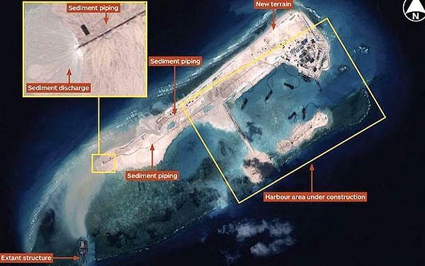 Çin tartışmalı bölgede faaliyete başladı