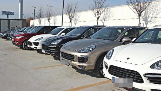 Koza Holding'in lüks araçları satılıyor
