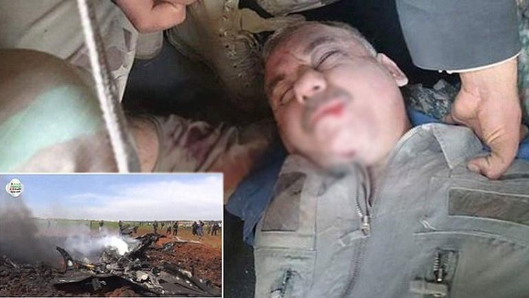 Suriyeli pilot El Nusra'ya rehin düştü