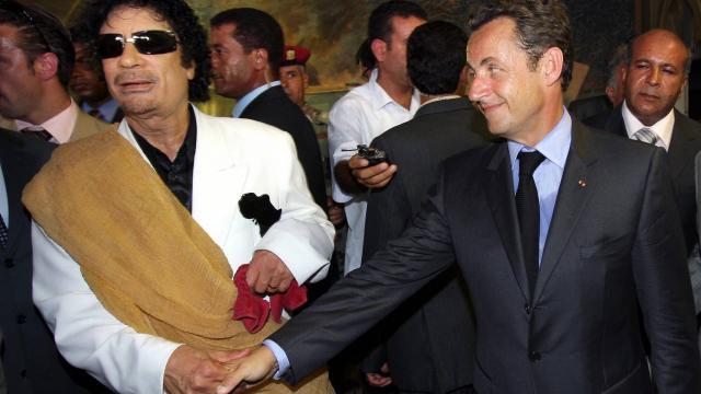 'Kaddafi-Sarkozy davası'nda yeni operasyon