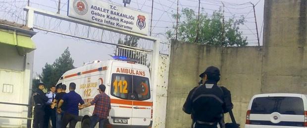 Kadın cezaevinde yangın: Altı yaralı