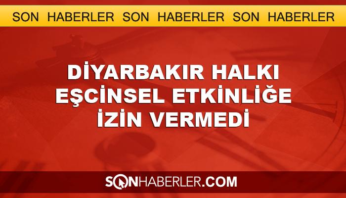 Diyarbakırlılar HDK'ya 'eşcinsel' etkinliği yaptırmadı