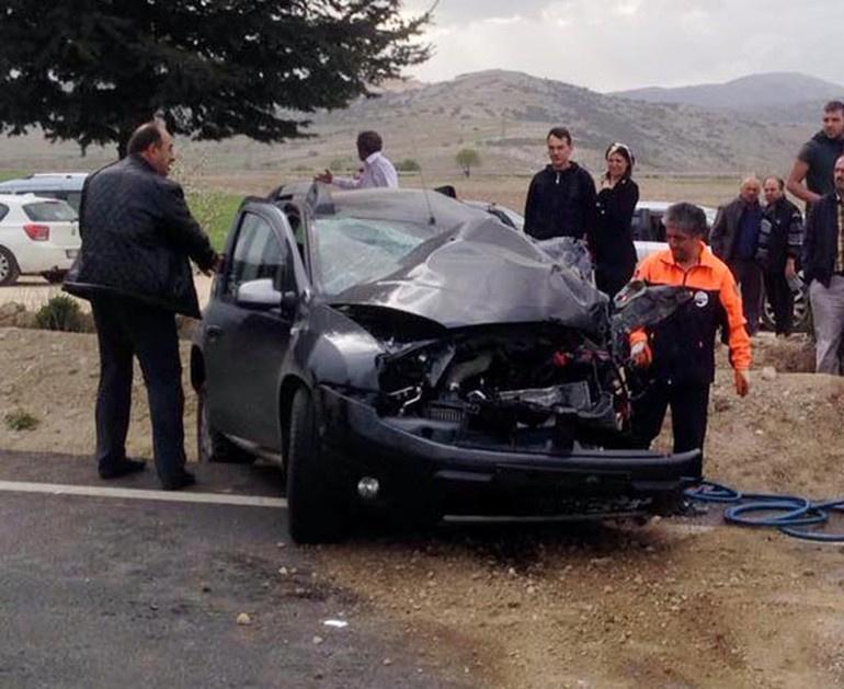 Isparta'da kaza: Eski başkan hayatını kaybetti