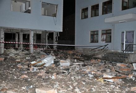 Okulda kazan patladı, ortalık savaş alanına döndü