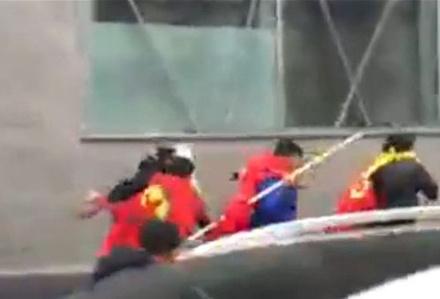 Paris'te Azeri gösterisine PKK saldırısı