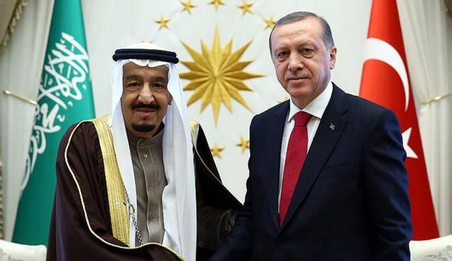 Erdoğan ile Kral Selman bölge meselelerini görüştü